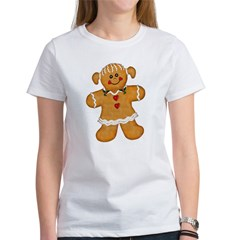 Gingerbread Woman Women's T-Shirt
