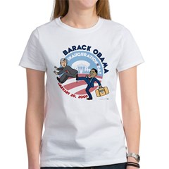 Obama Inaguration Final1.jpg Women's T-Shirt