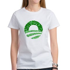 Obama Irish St. Patrick's Day Women's T-Shirt
