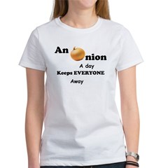 Onion A Day Women's T-Shirt