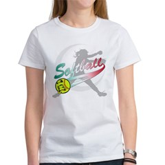 Girls Softball Women's T-Shirt