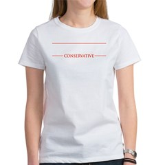 ReaganConservativeText-Dark Women's T-Shirt