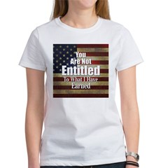 ENTITLED-square.jpg Women's T-Shirt
