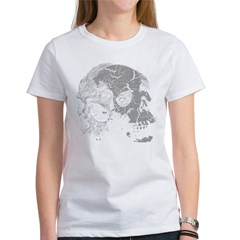 Skulls Double Time Women's T-Shirt
