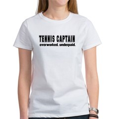TENNIS CAPTAIN Women's T-Shirt