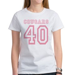 Cougars 40 Women's T-Shirt