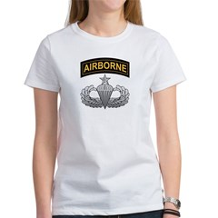 Senior Airborne Wings with Ai Women's T-Shirt