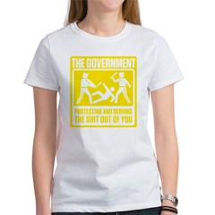 Protecting and Serving Women's T-Shirt