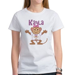 Little Monkey Kayla Women's T-Shirt