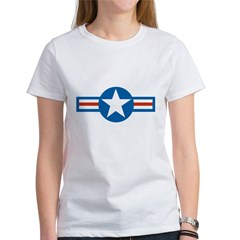 usaf_roundel_air_force copy Women's T-Shirt