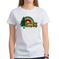 Earth Day Every Day Retro Women's T-Shirt