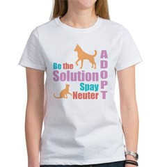 New Be The Solution Women's T-Shirt