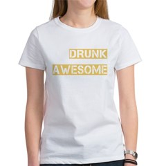 drunk awesome_dark Women's T-Shirt