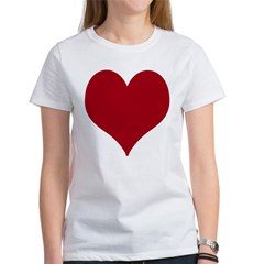 - Heart/Love Design Women's T-Shirt