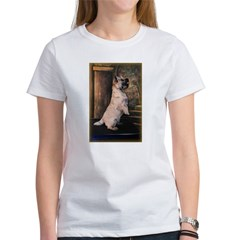 &quot;Sitting Pretty&quot; Cairn Terrier Women's T-Shirt