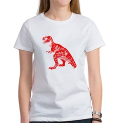 Red Dino Women's T-Shirt