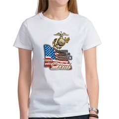 USMC Marine Dad - Women's T-Shirt