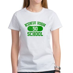 Kukui High School 50 Women's T-Shirt