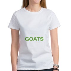 Live Love Goats Women's T-Shirt