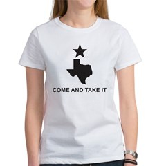 Come and Take It Slogan Women's T-Shirt