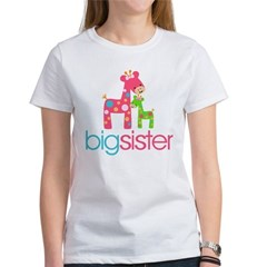 funky giraffe sister no name Women's T-Shirt