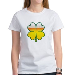 Beer Leaf Clover St. Patrick's Day Women's T-Shirt