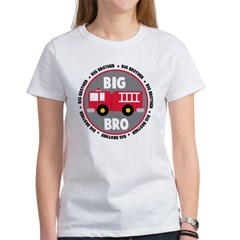 Big Brother Fire Truck Women's T-Shirt