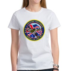 SPITFIRE w.UK flag Women's T-Shirt