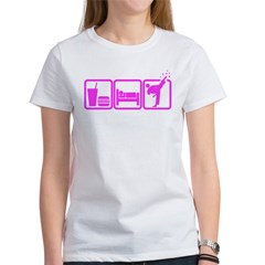 EAT-SLEEP-TKD Women's T-Shirt