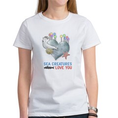Sea Creatures Women's T-Shirt
