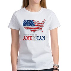 Proud to be an American Women's T-Shirt