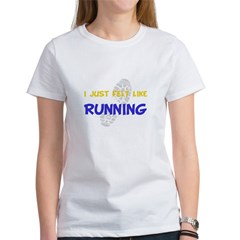 I Felt Like Running Women's T-Shirt