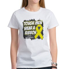 Sarcoma ToughMenWearRibbon Women's T-Shirt