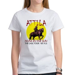 Attila 'Huns in the Sun' tour Ash Grey Women's T-Shirt