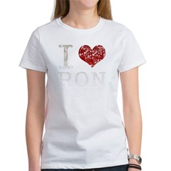 I heart Ron Paul Women's T-Shirt