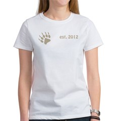 papa bear claw 2012_dark Women's T-Shirt