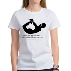 Betrayed by-Gillard Govt-Female.jpg Women's T-Shirt