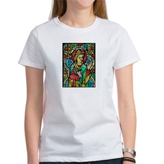 Stained Glass Queen Light Women's T-Shirt