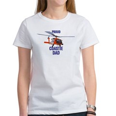 Coastie Dad Women's T-Shirt