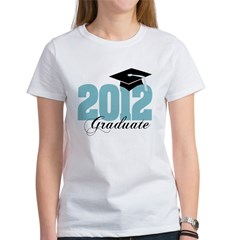 2012 graduate color aqua Women's T-Shirt