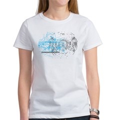 Particle Physics Gives Me A Large Hadron Women's T-Shirt