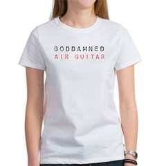 GODDAMNED AIR GUITAR Ash Grey Women's T-Shirt