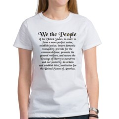 We the People US Women's T-Shirt