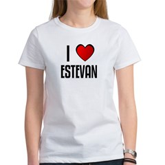 I LOVE ESTEVAN Women's T-Shirt