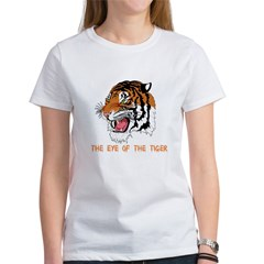 Eye of the tiger Women's T-Shirt