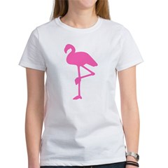 Hot Pink Flamingo Women's T-Shirt