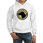 Black Lab Crest - Hooded Sweatshirt