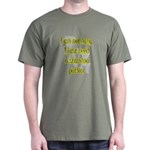 Lazy Stamina Potion Military Green T-Shirt