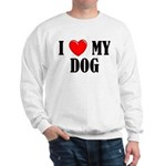Love My Dog Sweatshirt