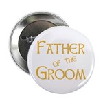 "Sherbet Father of the Groom 2.25"" Button (10 pack)"